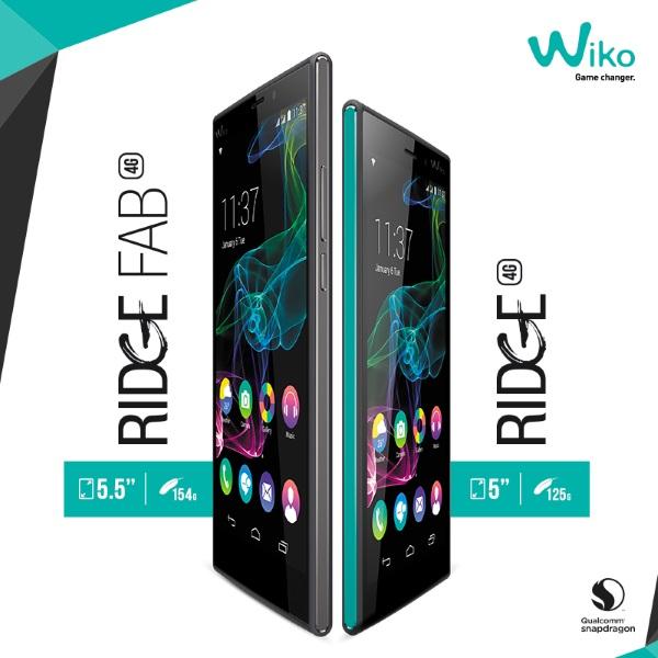 Wiko Ridge Fab 4G và  Wiko Ridge