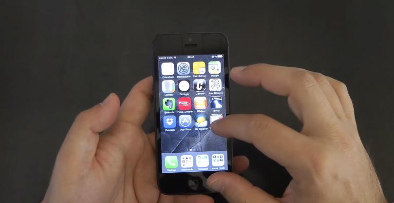 iPhone 5 Lock trang bị màn hình 4 inch