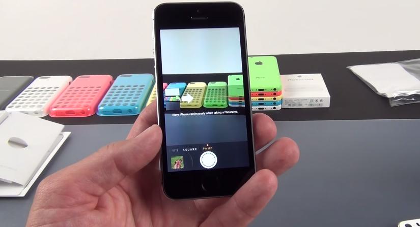 Camera trên iPhone 5S 16GB Lock
