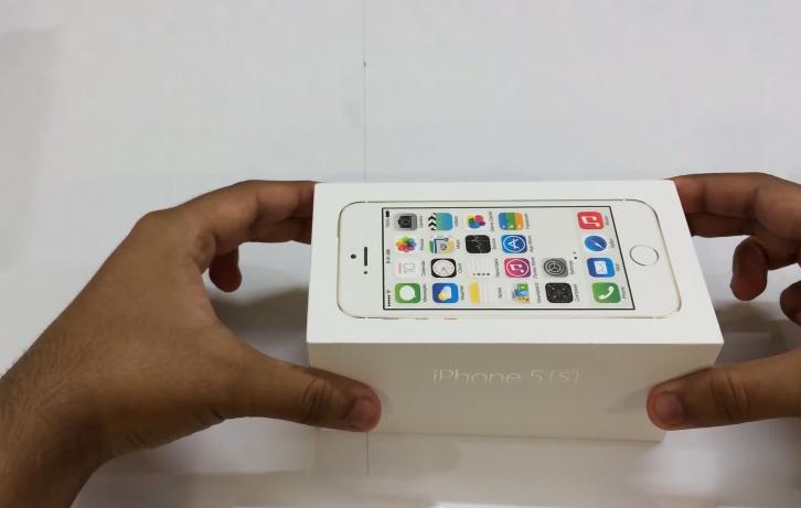 Hình ảnh ở hộp iPhone 5S Lock 01