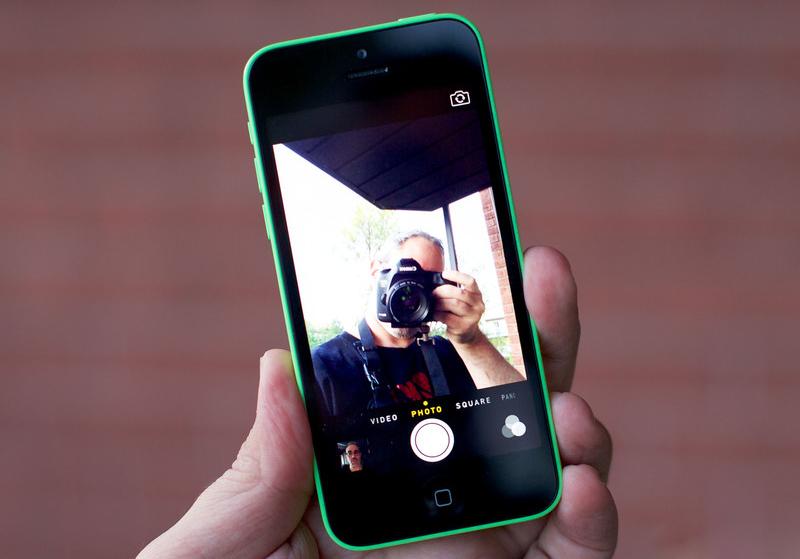 Camera trên iPhone 5C 16GB Cũ Like New 99%