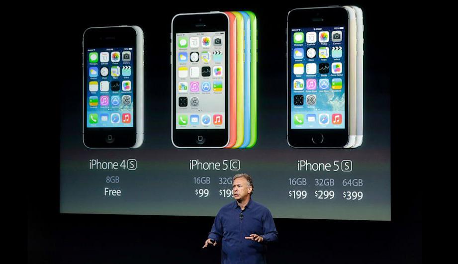 iPhone 5C 16GB Cũ trong sự kiện ra mắt