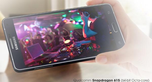 Samsung Galaxy A7  hiệu năng khủng