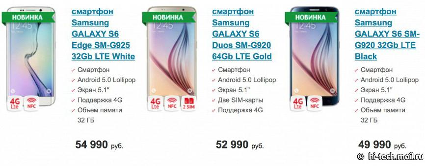 Samsung Galaxy S6 Duo 2 Sim lên kệ