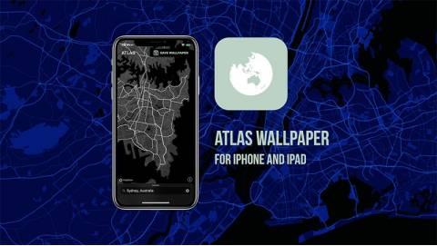 Hướng dẫn cách tạo hình nền trên bản đồ trên iPhone với phong cách độc lạ
