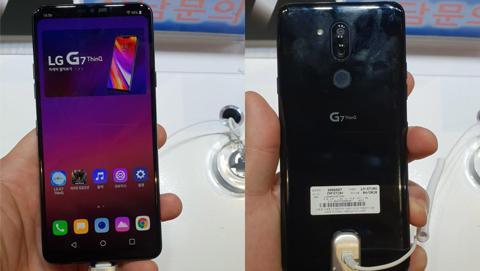 LG G7 ThinQ rò rỉ ảnh thực tế và thông số cấu hình