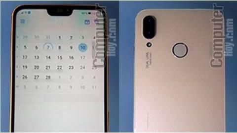 Huawei P20 Lite lộ ảnh thực tế với màn hình 18:9, camera kép nằm dọc
