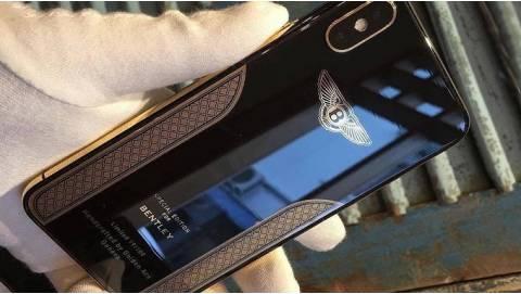iPhone X Bentley Edition mạ vàng 18K, chỉ bán giới hạn 100 chiếc
