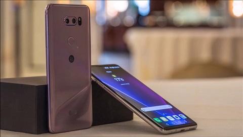 LG V35 ThinQ chuẩn bị ra mắt, camera kép, màn hình lớn 6 inch