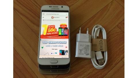 Đập hộp Samsung Galaxy S6 32GB giá 7,2 triệu đồng tại Duchuymobile.com