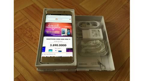 Đập hộp Samsung Galaxy S6 Edge Plus giá 14 triệu tại Duchuymobile.com