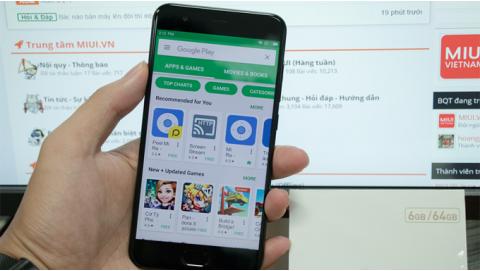 Hướng dẫn cài Google Play cho Xiaomi Mi6