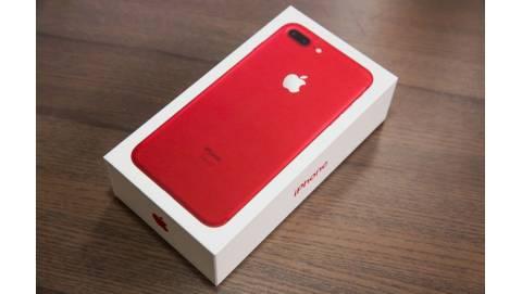Đập hộp iPhone 7 Plus màu đỏ giá khoảng 19.7 triệu đồng