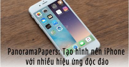 PanoramaPapers: Ứng dụng tạo hình nền iPhone độc đáo và ấn tượng