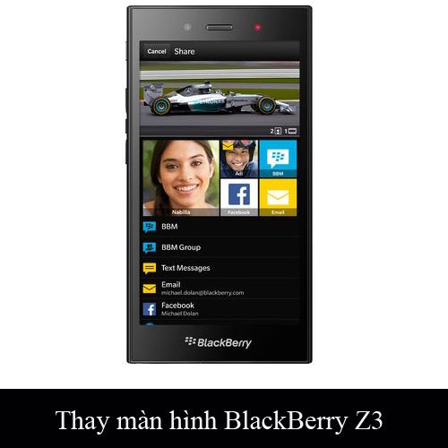 Thay màn hình, mặt kính Blackberry Z3