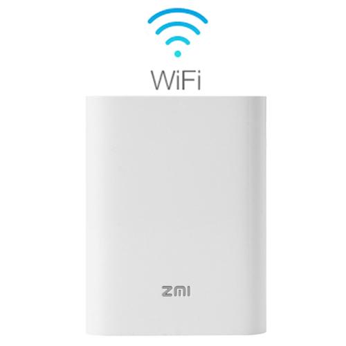 Thiết bị phát wifi 4G tích hợp sạc dự phòng 7800mah ZMi (MF855)
