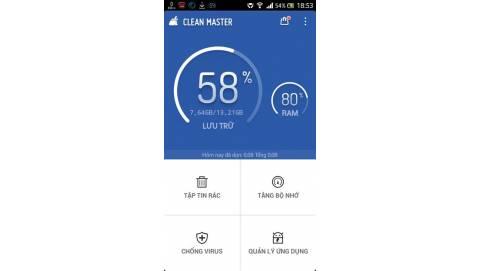 Mẹo tiết kiệm dung lượng ổ cứng trên thiết bị chạy Android