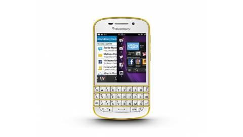 BlackBerry Q10 Vàng - phiên bản đặc biệt vừa ra mắt