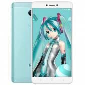 Xiaomi Redmi Note 4X Hatsune Miku màu xanh