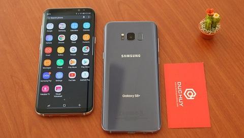 Bộ đôi Samsung Galaxy S8 và S8 Plus cũ giảm giá mạnh, chỉ còn 9 triệu đồng