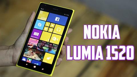 Xuất hiện smartphone Nokia với thiết kế giống Lumia 1520