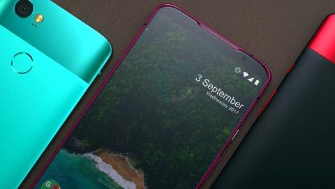 Google Pixel 3 XL rò rỉ thiết kế mới, màn hình có tai thỏ