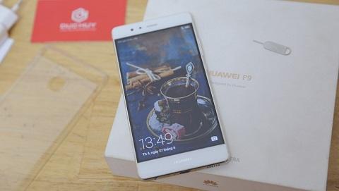 Mở hộp Huawei P9 giá 5.290.000 đồng chỉ có tại Đức Huy Mobile
