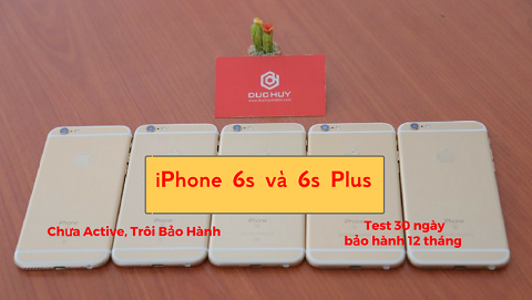 iPhone 6s và 6s Plus giảm giá mạnh còn 4.7 triệu đồng tại Đức Huy Mobile