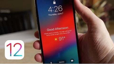 Mẹo cài đặt iOS 12 nhanh hơn server Apple
