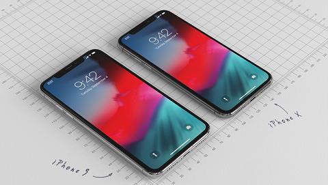 iPhone 6.1 inch 2018 lộ ảnh 3D sắc nét bên cạnh iPhone X