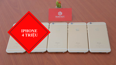 iPhone 6, 6s và 6s Plus 32GB đồng loạt giảm giá, chỉ từ 4 triệu đồng