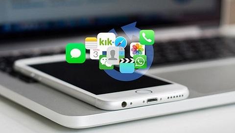 Cách đơn giản để khôi phục dữ liệu cho iPhone không cần mang ra tiệm