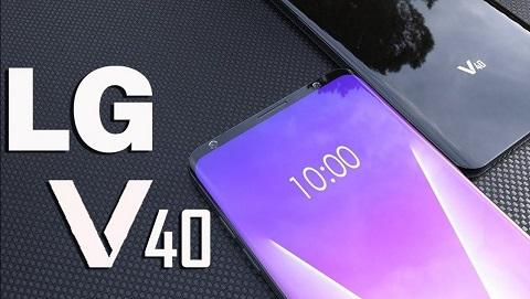 LG V40 rò rỉ thông số cấu hình, ra mắt sau Samsung Galaxy Note 9