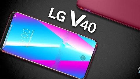LG V40 ThinQ rò rỉ hình ảnh với tận 5 camera cho cả trước và sau
