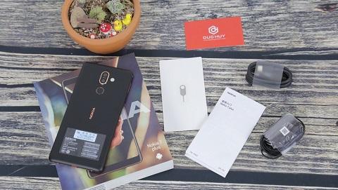 Mở hộp Nokia 7 Plus tại Đức Huy Mobile, giá tầm 7 triệu đồng