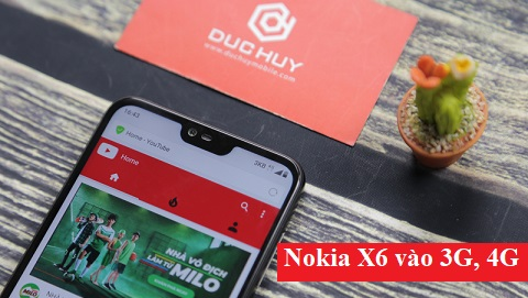 HOT: Nokia X6 2018 đã vào được 3G, 4G tại Việt Nam