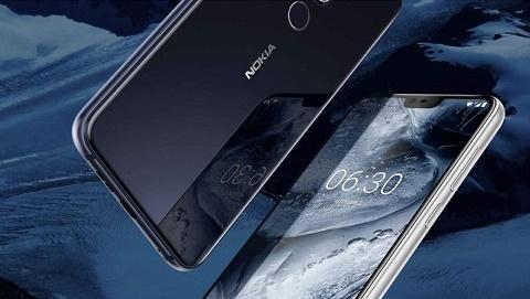 Rò rỉ tấm nền Nokia X7 với thiết kế màn hình tai thỏ ấn tượng