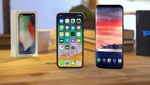 Samsung Galaxy S9 Plus và iPhone X thiết kế cao cấp, giá rẻ hơn thị trường 2-4 triệu