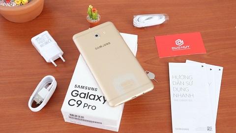 Samsung Galaxy C9 Pro pin khủng, rẻ không đối thủ, giá chỉ 5.990.000 đồng