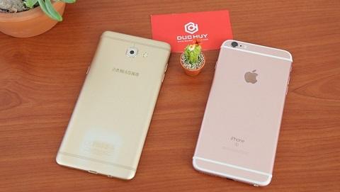 Với số tiền 6 đến 7 triệu, nên mua iPhone 6s Plus hay Galaxy C9 Pro?