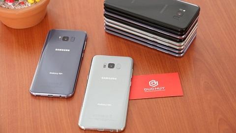 Samsung Galaxy S8 Plus 2 SIM giảm gần 2 triệu đồng, đủ bản màu tại Đức Huy Mobile