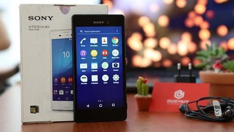 Sốc: Sony Xperia M4 Aqua Dual giảm mạnh còn 1.4 triệu, mua ngay kẻo hết
