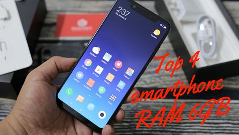 TOP 4 smartphone RAM 6GB, giá tốt đang bán tại Đức Huy Mobile