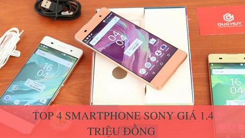 Top 4 smartphone Sony chính hãng Full box giá rẻ chỉ từ 1.400.000 đồng