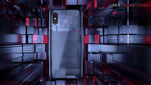 Xiaomi Mi8 EE: mặt lưng trong suốt, Face ID, cảm biến vân tay dưới màn hình, giá 13 triệu