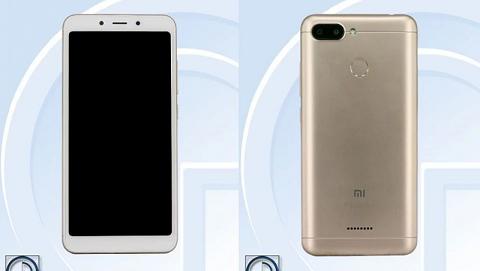 Lộ hình ảnh 2 mặt của Xiaomi Redmi 6A màn hình 18:9, khung vỏ kim loại