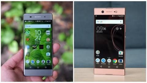 Bộ đôi smartphone selfie Sony giảm giá còn từ 3 triệu