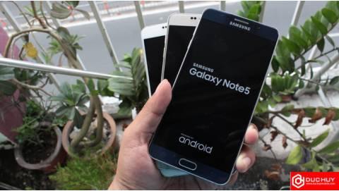 So sánh Galaxy Note 5 cũ với các đối thủ cùng tầm giá 5 triệu
