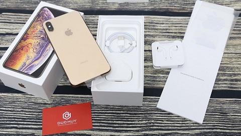 Đập hộp iPhone XS Max 2 SIM đầu tiên về TP.HCM tại Đức Huy Mobile
