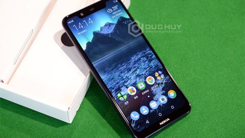 Đập hộp nhanh Nokia X5 2018: Màn hình tai thỏ, camera kép, giá từ 3,5 triệu
